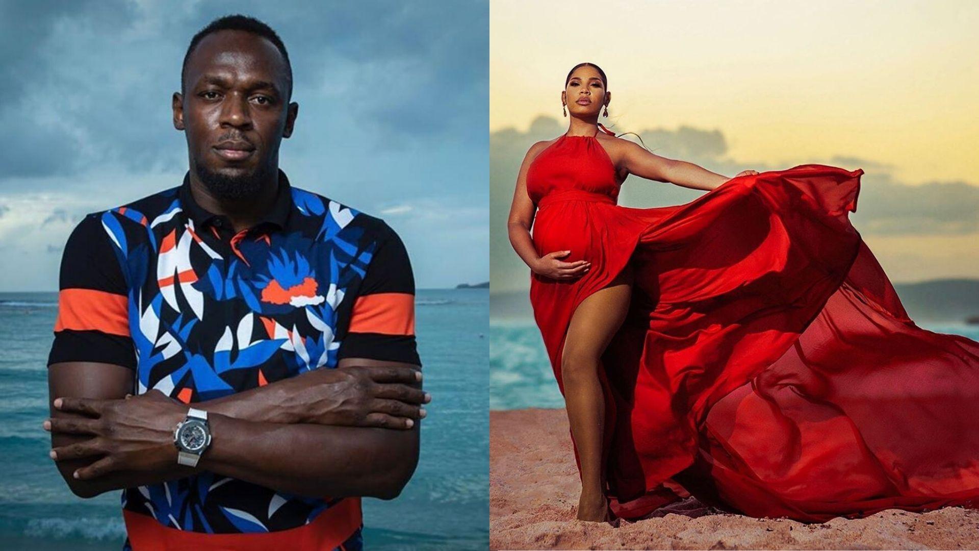 Usain Bolt (L) and Kasi Bennett (R) [Photo: Instagram]