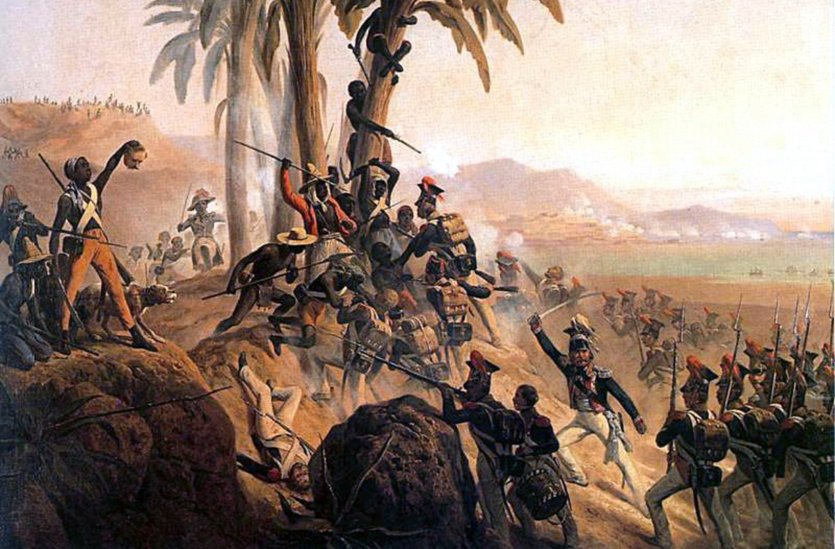 Apport de la nation haïtienne à l'émergence des droits de l'homme.