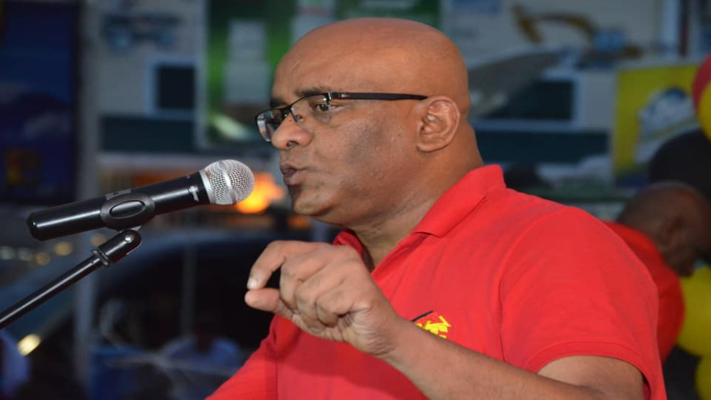 Opposition Leader Bharrat Jagdeo. Photo: Peoples Progressive Party/Civic