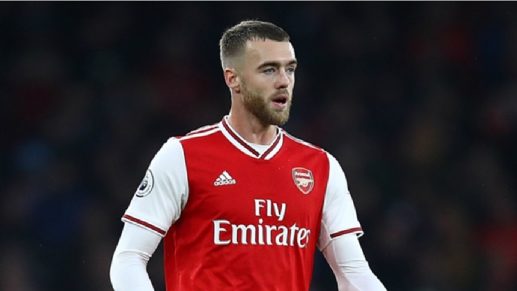 Arsenal defender Calum Chambers.