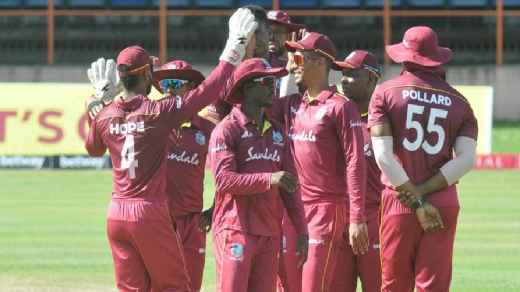 Members of West Indies lmited-overs team.