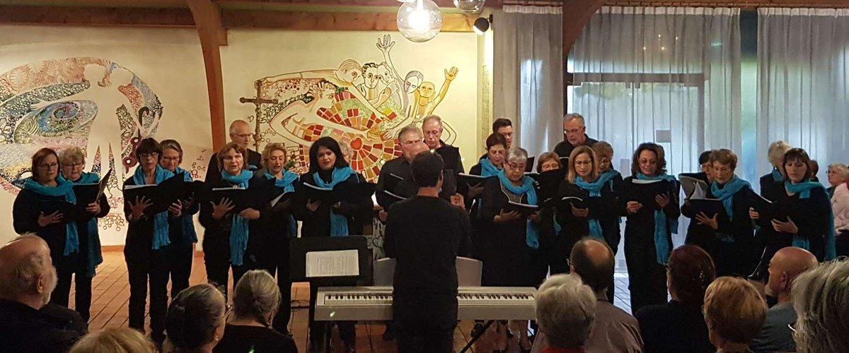 La chorale Choeur de Louve en concert le dimanche 18 novembre 2018 à Pennautier au profit d'Haiti.