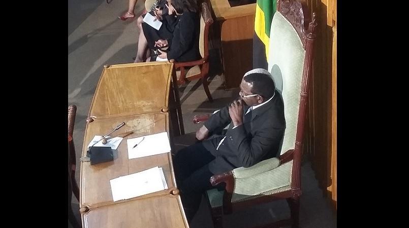 House Speaker, Pearnel Charles Snr