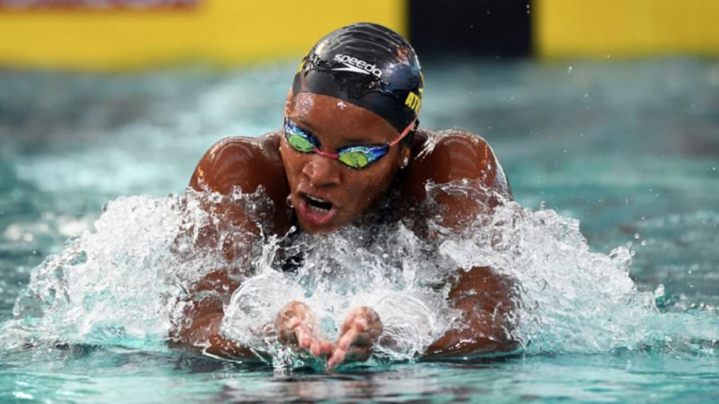 Jamaica's swimming sensation, Olympian Alia Atkinson.