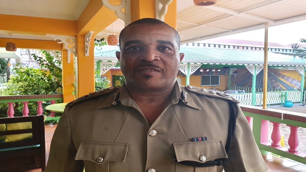 Acting Police Commissioner in St Lucia, Milton Desir