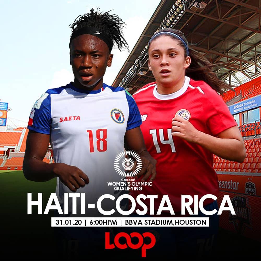 Tokyo 2020 : Haïti doit rebondir contre Costa Rica. Photo montage. Marc Henley