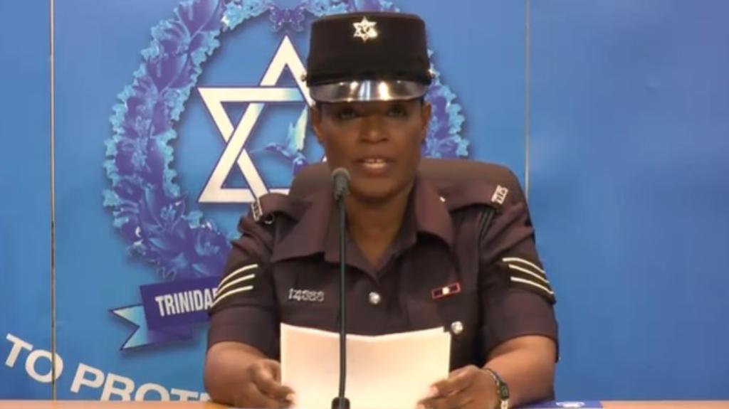 Sgt ValarieHospedalesof theTrinidad and Tobago Police Service'sChild Protection Unit
