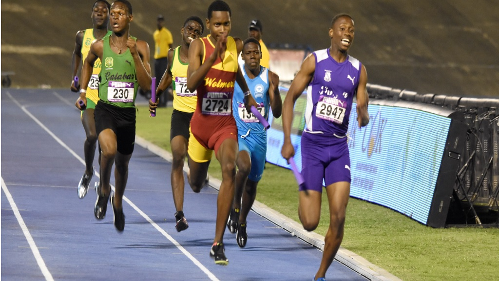 Action from the 2019 staging of the Gibson McCook Relays at the National Stadium in Kingston.