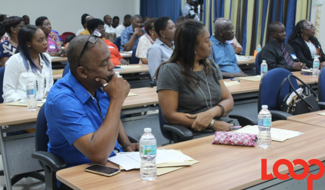 Participants at the Drug Education Seminar for Pastors and Ministry Leaders hosted by the NCSA.