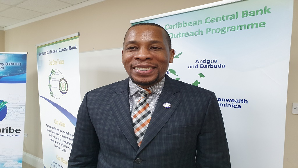 Governor of the Eastern Caribbean Central  Bank (ECCB), Timothy Antoine