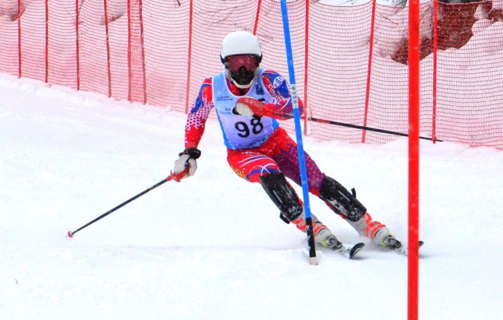 Le jeune skieur haïtien Mackenson Florindo / Crédit Photo : Olympic Channel
