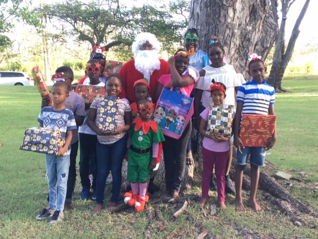 Photo from the Christmas Cheer project hosted by the United Generations Optimist Club.