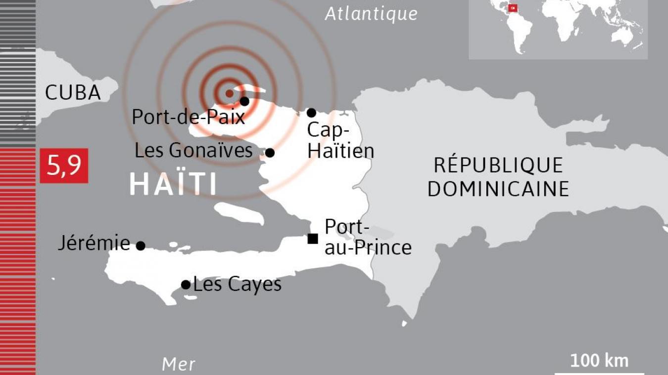 Illustration de la localisation d'un séisme