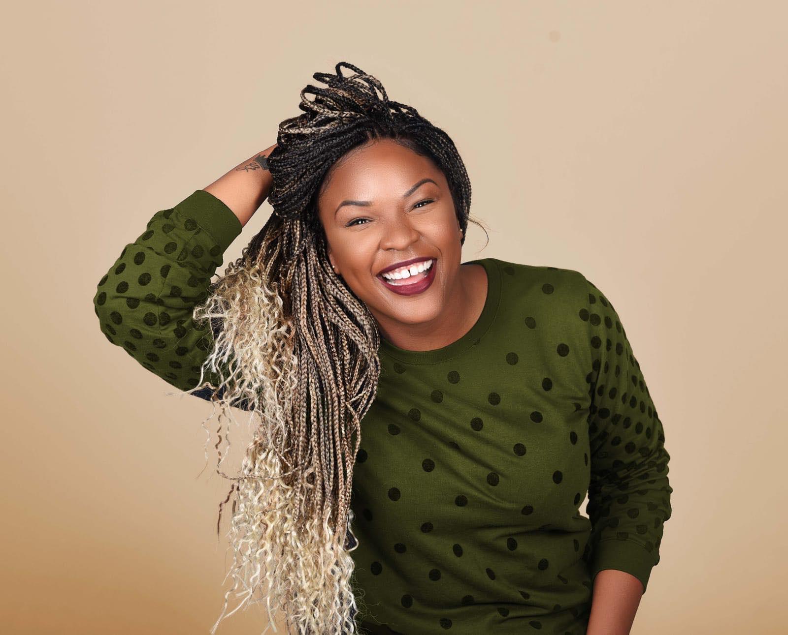L'actrice Garihanna Jean-Louis, nominée Humoriste de l'année par le Gala Dynastie/Photo: Fournie par l'artiste .