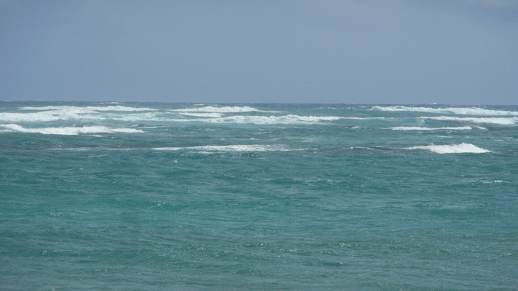 The sea in Vieux Fort