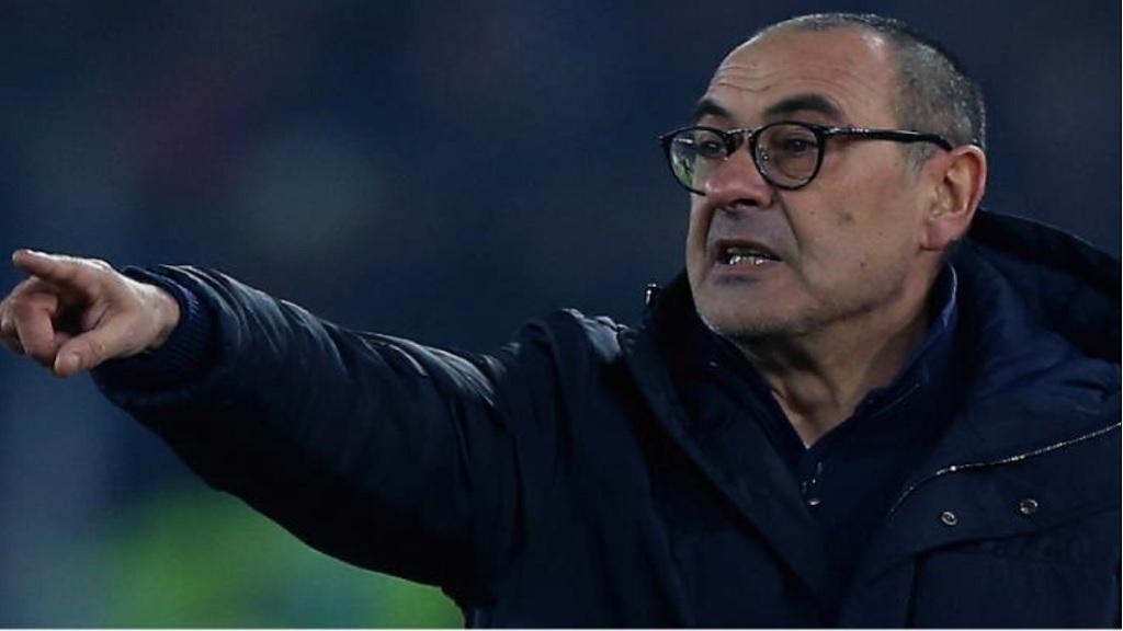 Juventus boss Maurizio Sarri.