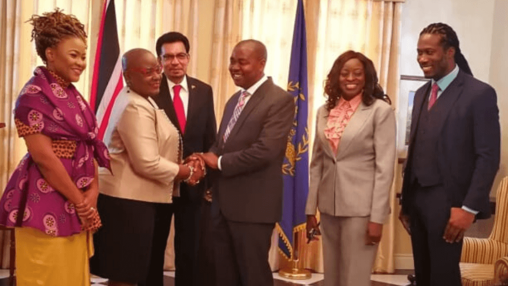 Senator Foster Cummings was sworn in as Parliamentary Secretary in the Ministry of Rural Development and Local Government at the Office of the President, St Ann's on January 2