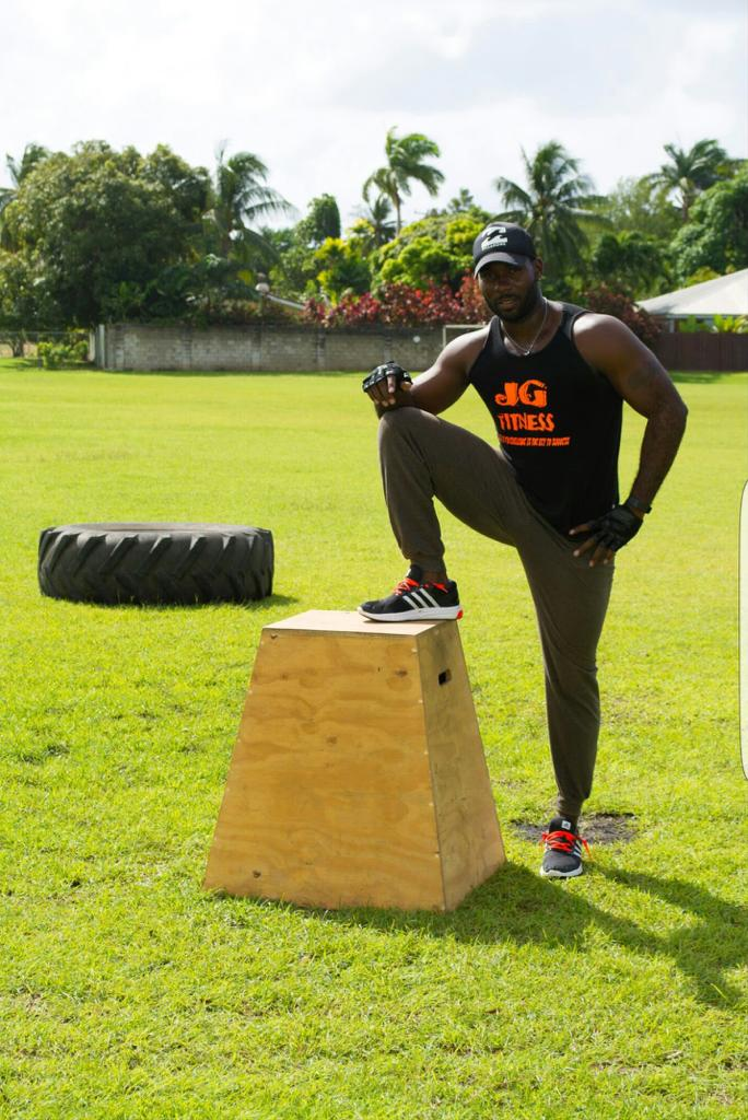 Fitness Entrepreneur Jamar Griffith of J. G Fitness