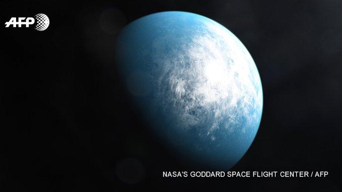 Une représentation hypothétique de la planète TOI 700 d. NASA/AFP - HANDOUT