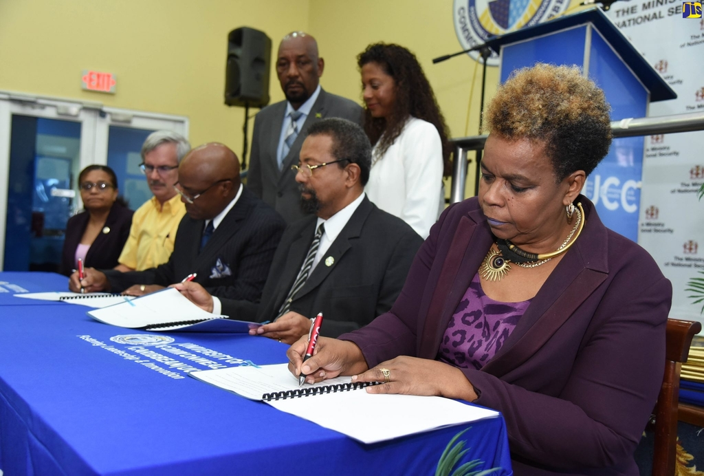 The initiative, which aims at boosting the educational capabilities of the participants, is being facilitated through a memorandum of understanding (MOU) among the Ministry of National Security through the Department of Correctional Services; Stand Up For Jamaica, a non-governmental organisation; and the UCC.