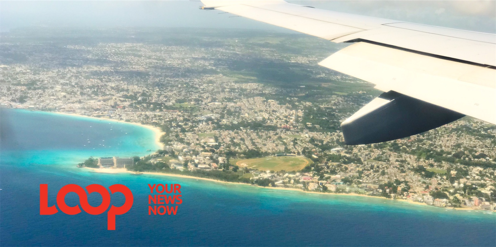 Aerial view of Barbados (FILE)