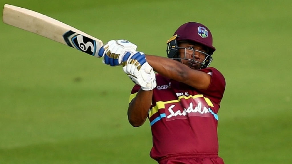 Evin Lewis on the go.