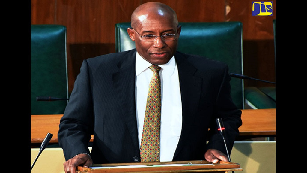 Senator Aubyn Hill (file photo)