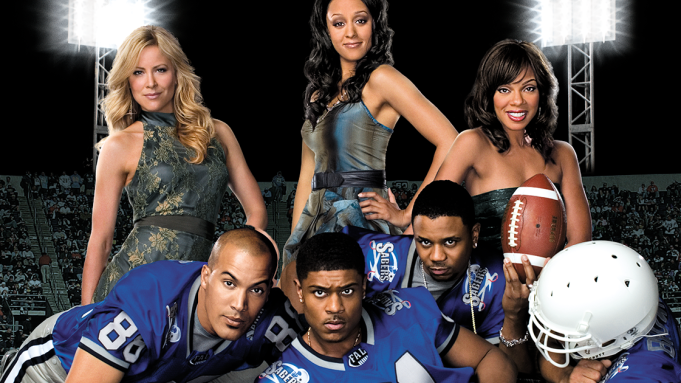 Cast members of the original TV show The Game. (Photo: CBS TV Studios)