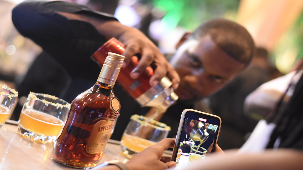 What's a rum festival without Appleton Estate rum?