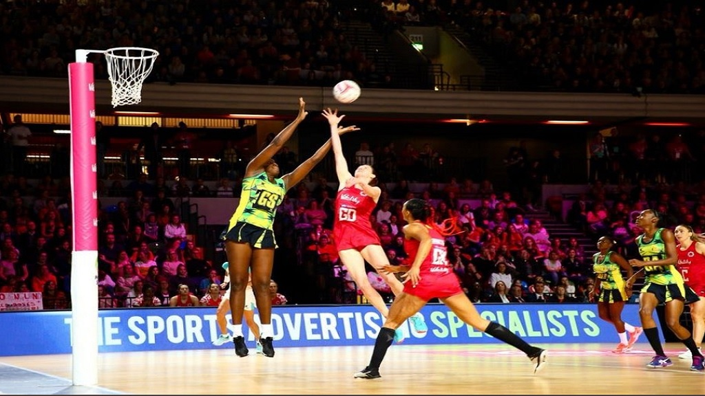 Action from the Nations Cup match between Jamaica and England at London's Copper Box Arena on Saturday, January 25, 2020.