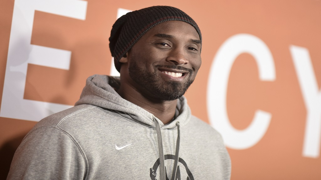 "Kobe Bryant attends the LA premiere of ""Just Mercy"" at Cinemark Baldwin Hills on Monday, Jan 6, 2020, in Los Angeles. (Photo by Richard Shotwell/Invision/AP)"