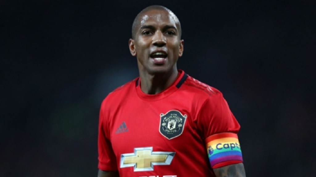 Inter's new signing, Ashley Young.