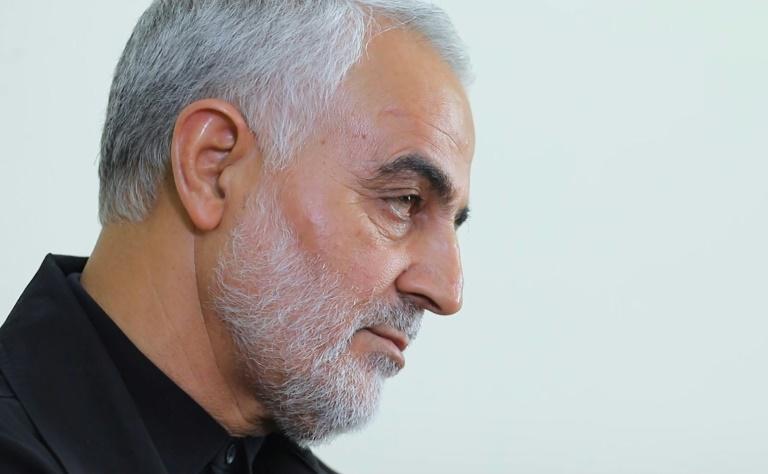 Le général iranien Qassem Soleimani, le 1er octobre 2019