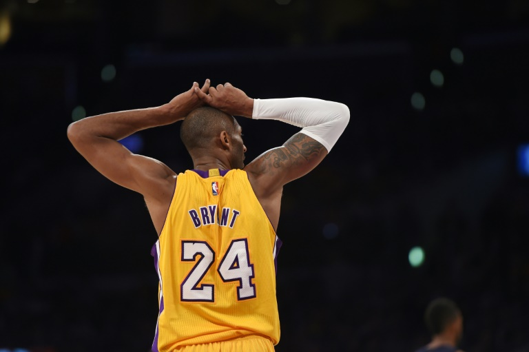 Kobe Bryant,le 26 novembre 2014 lors d'un match des Los Angeles Lakers contre Memphis au Staples Center