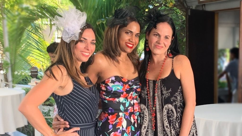 L-R: Natalie Da Silva Bogle, Khadene Lobbon, Daphne Ewing-Chow