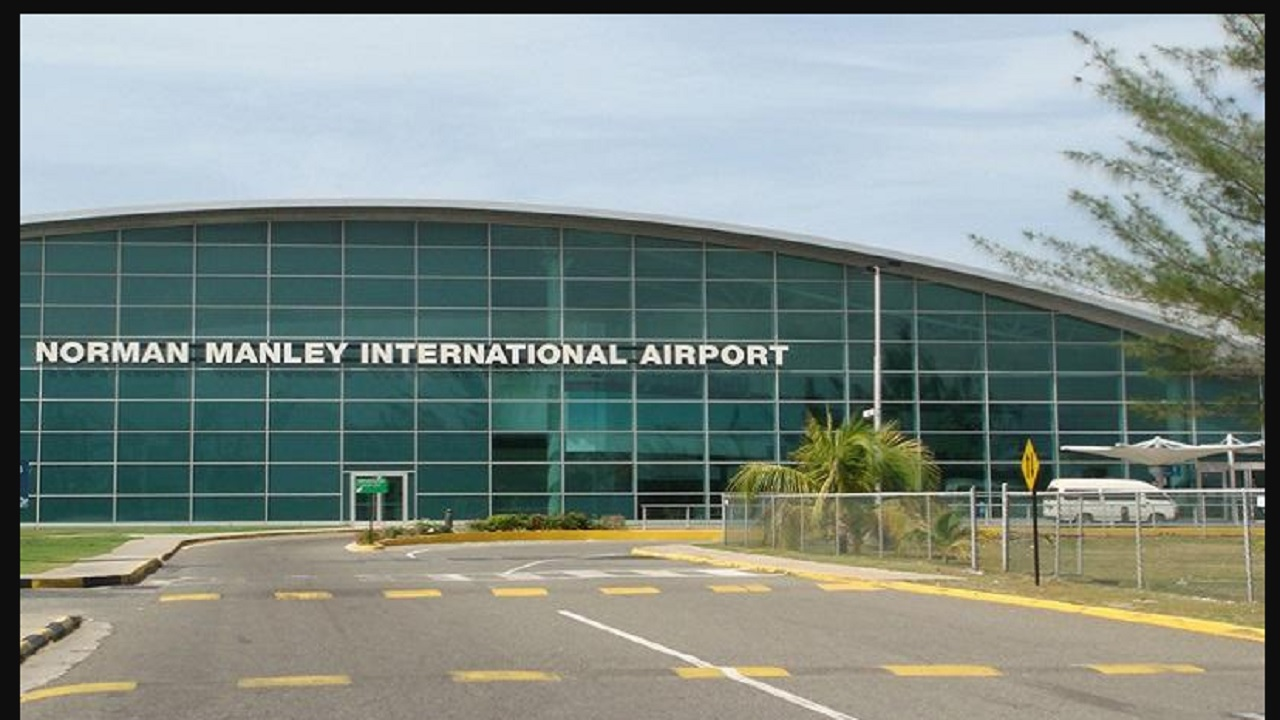 A section of the Norman Manley International Airport in Kingston.