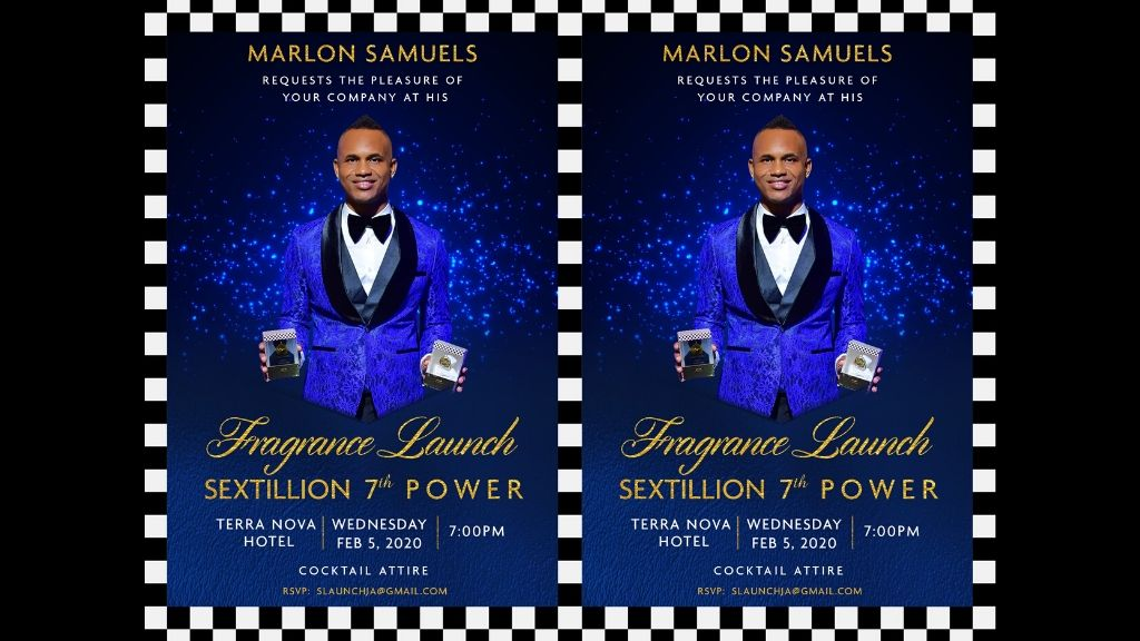 Jamaican cricketer-cum-entrepreneur Marlon Samuels debuts first fragrance: Sextillion 7th Power.