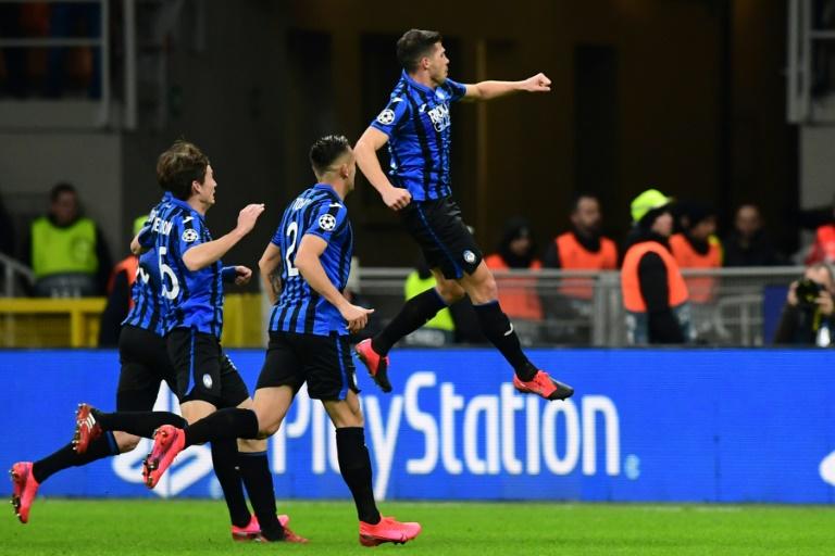 Les joueurs de l'Atalanta ont créé la sensation en dominant Valence en 8e de finale aller de la Ligue des champions à San Siro, le 19 février 2020