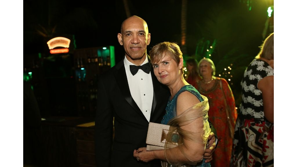 Police Commissioner Antony Anderson and his filmmaker partner Justine Henzell