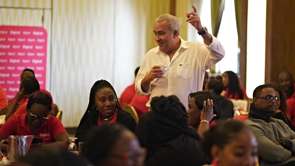 Digicel Barbados CEO Yaser Maher