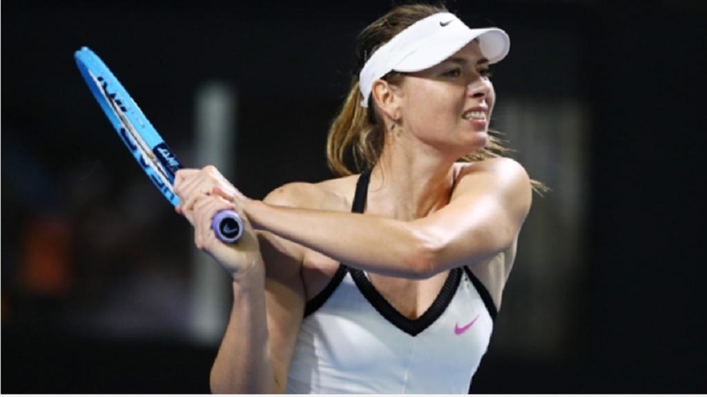 Russian Maria Sharapova.