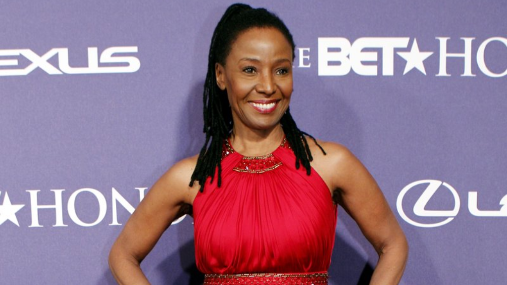 FILE - In this January 14, 2012 file photo, former model and restaurateur B. Smith arrives at the BET Honors red carpet in the Warner Theatre in Washington. (AP Photo/Jose Luis Magana, File)