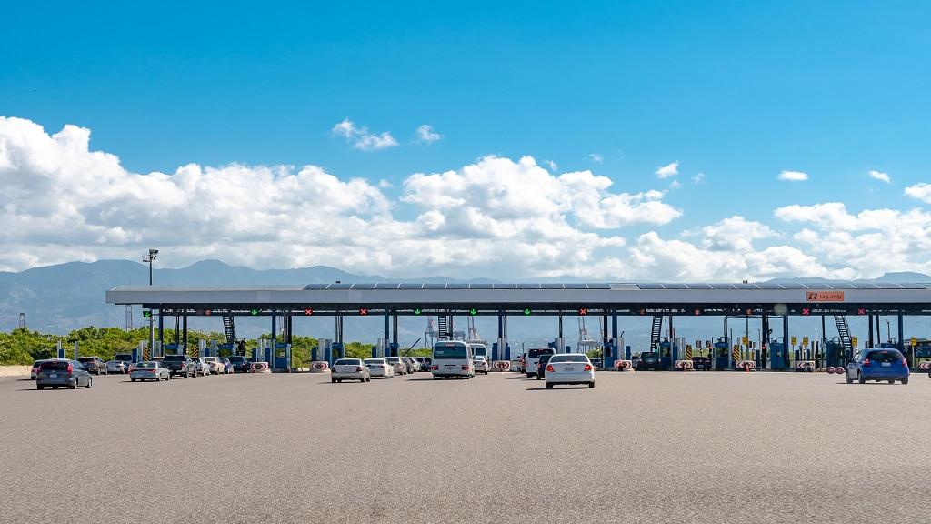 Portmore toll plaza via iStock