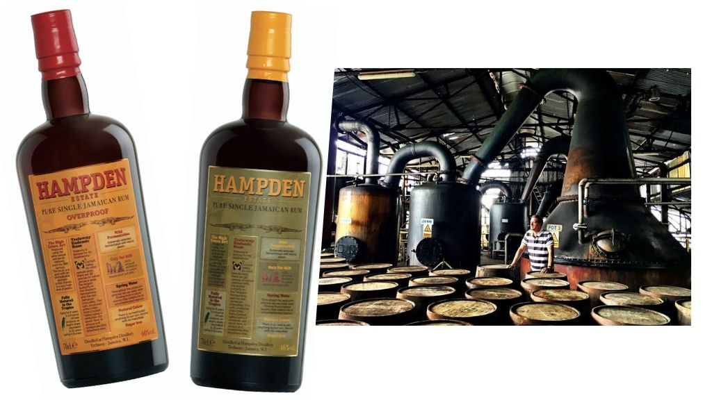Hampden Estate rum, made in Jamaica at the Trelawny-based sugar estate. (Photos: courtesy of Hampden Estate)