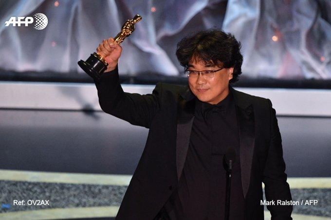 """Oscars: le triomphe de """"Parasite"""", un tournant pour le cinéma sud-coréen. Photo: AFP"""
