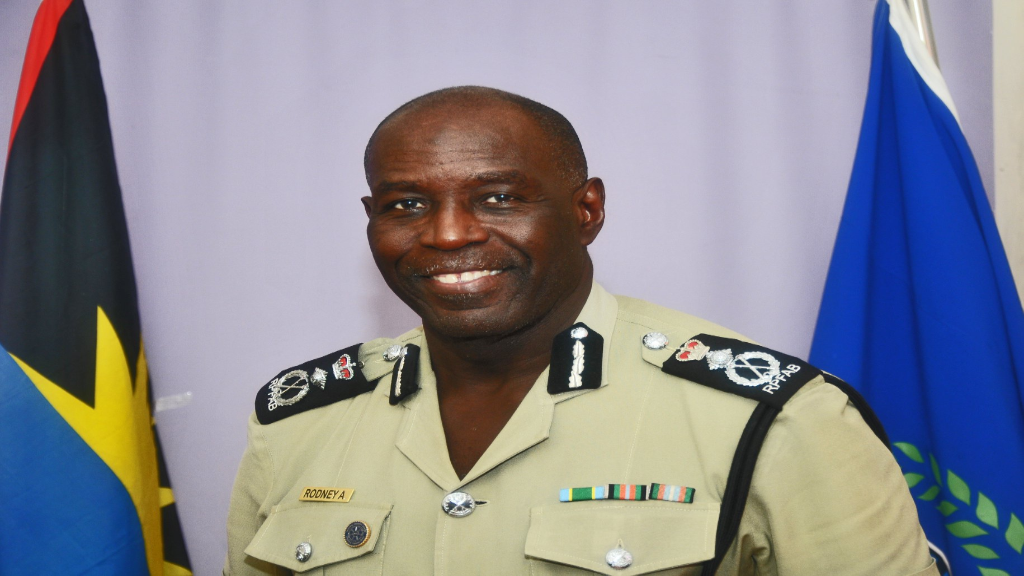 Commissioner of the Royal Police Force of Antigua and Barbuda, Atlee Patrick Rodney. Photo: Royal Police Force of Antigua and Barbuda