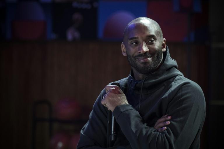 Kobe Bryant, en octobre 2017 à Paris