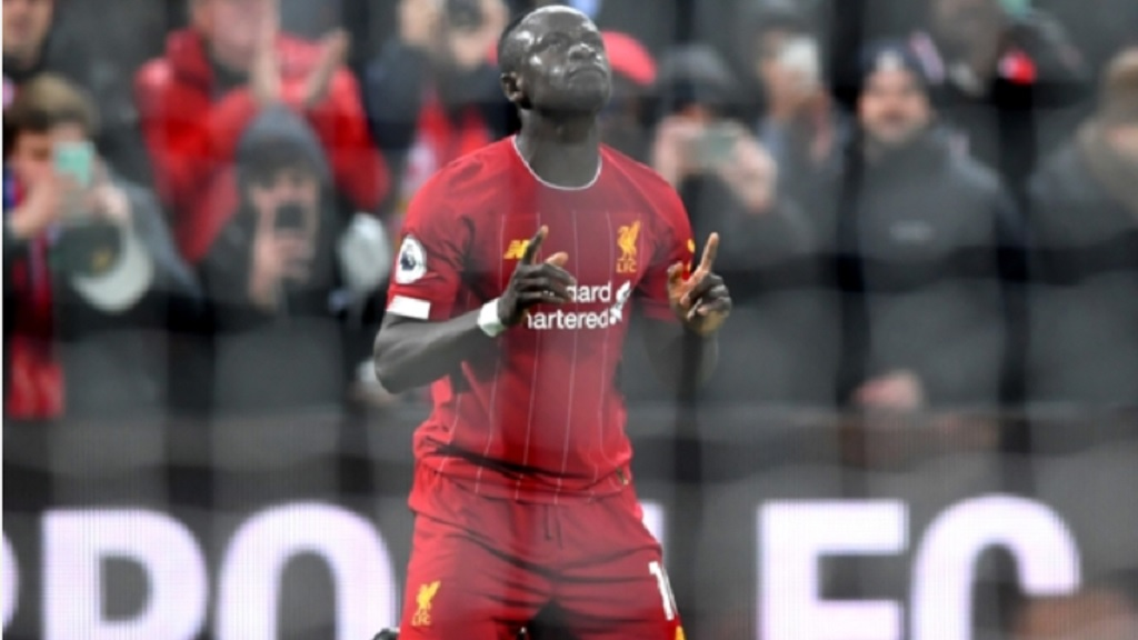 Liverpool star Sadio Mane.
