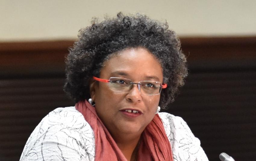 Barbados Prime Minister and CARICOM Chair, the Honourable Mia Mottley
