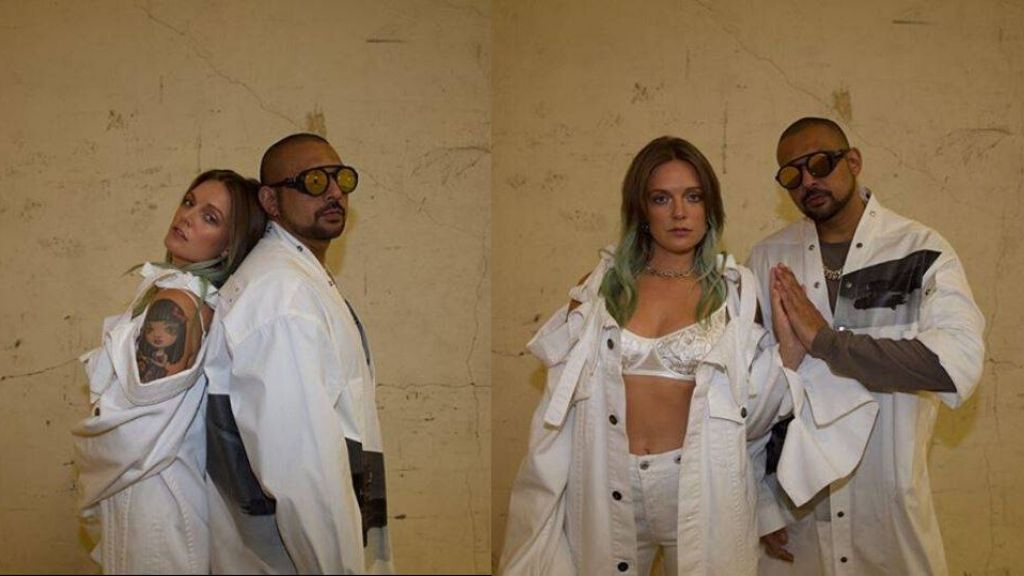 Grammy Award-winning recording artiste Sean Paul and Grammy nominee Tove Lo. (Photos: via Instagram/@tovelo)